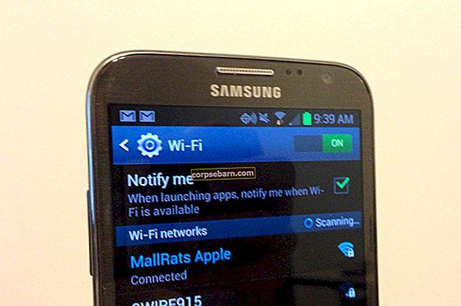 Cách khắc phục lỗi không đăng ký được trên mạng trên Samsung Galaxy / Android