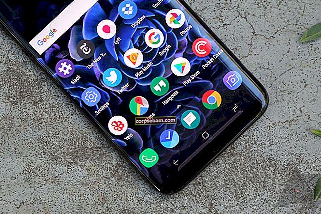 Kuidas parandada Samsung Galaxy S8 automaatse pööramise ebaõnnestumist