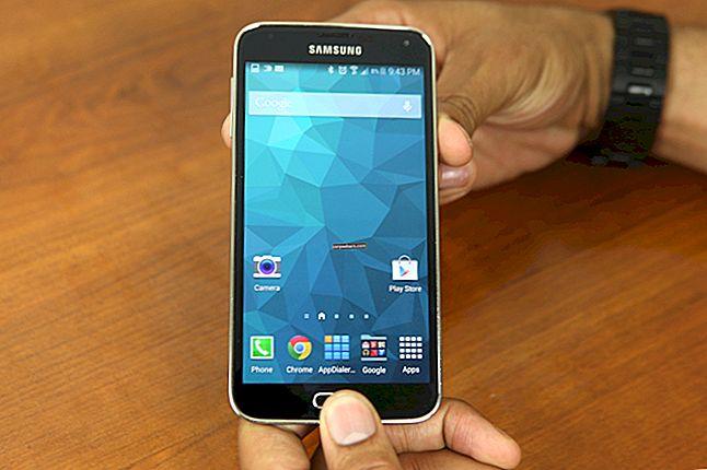 Hancomi vaaturi kasutamine Samsung Galaxy Tab S-is