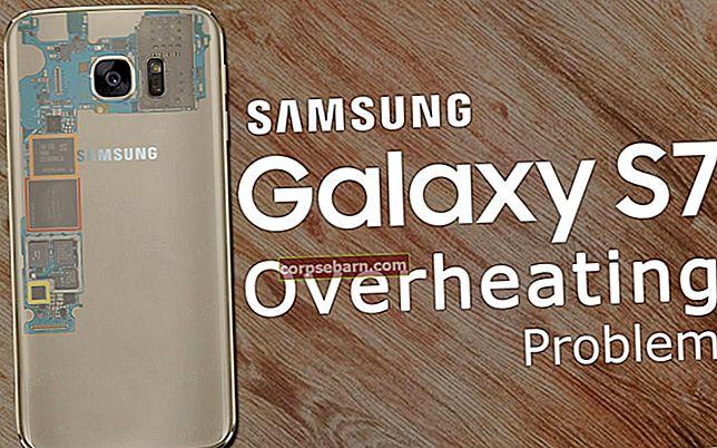 Samsung Galaxy S7 ülekuumenemise probleemi lahendamine