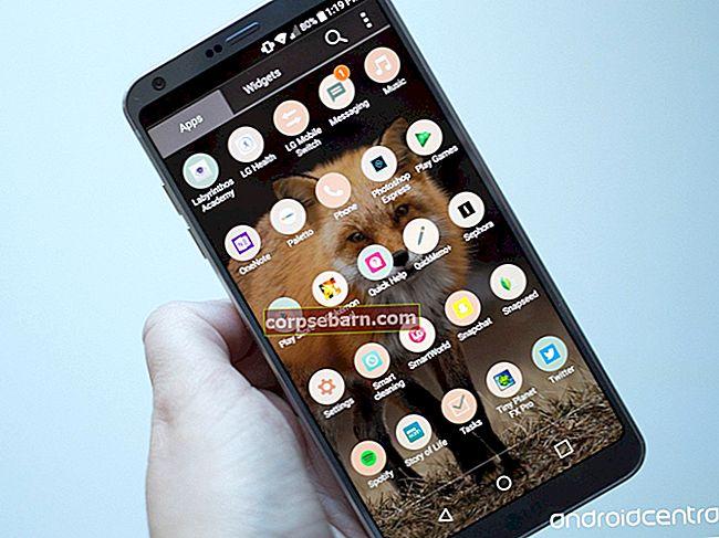 Kuidas lahendada LG G6 aku eluiga seotud probleeme