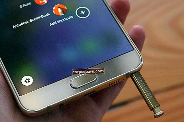 Cách khắc phục sự cố sạc Galaxy Note 5