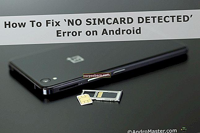 Cách khắc phục lỗi không có thẻ SIM trên Android