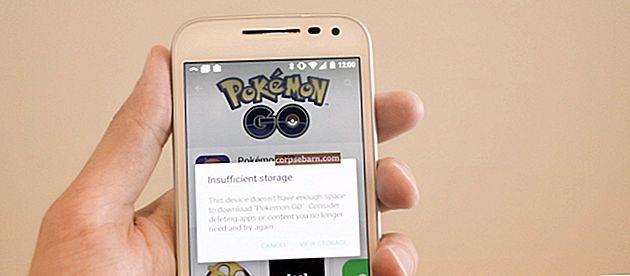 """Kuidas parandada Androidis viga """"Ebapiisavalt salvestusruumi saadaval"""""""