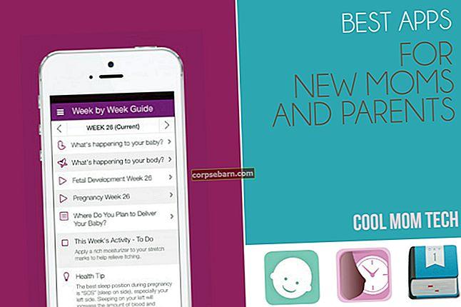 Nejlepší nejlepší aplikace pro nové rodiče