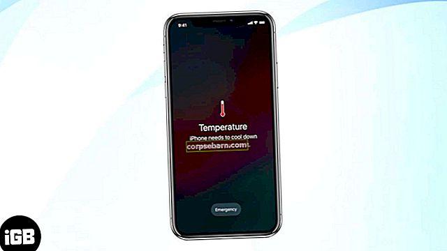 Πώς να επιδιορθώσετε το iPhone υπερθέρμανση και να πάρει ζεστό πρόβλημα