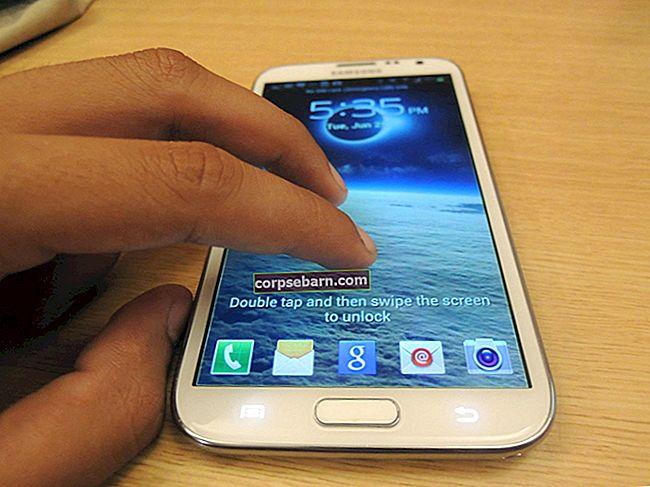 Πώς να διορθώσετε το Samsung Galaxy S5 Η οθόνη αφής δεν λειτουργεί