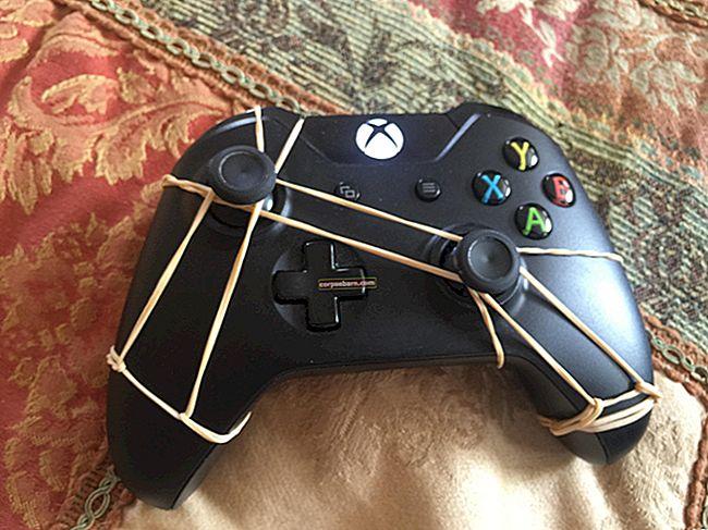 Xbox One Controller Joystick Drift Fix