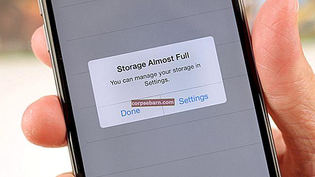 Αποθηκευτικός χώρος iPhone σχεδόν πλήρης - Εδώ είναι πώς να το διορθώσετε