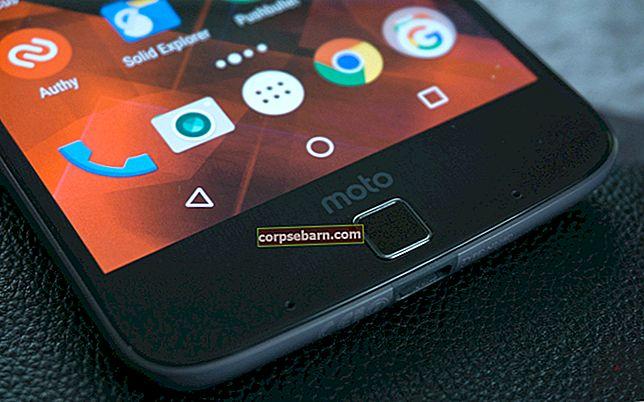 Τρόπος επίλυσης προβλημάτων Motorola Moto Z Wi-Fi
