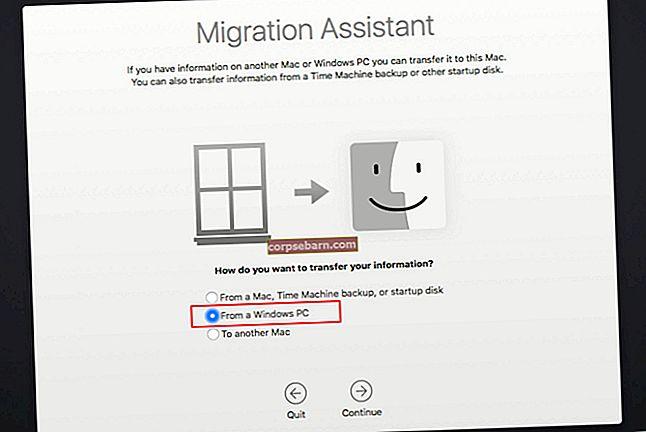 Cách chuyển dữ liệu từ máy Mac sang máy Mac bằng Hỗ trợ di chuyển