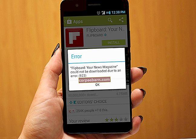 Kuidas parandada Google Play poe viga 492