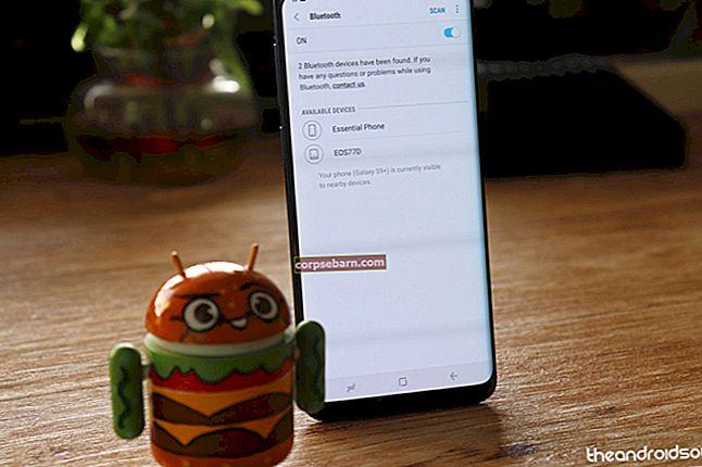 Jak opravit problémy s Samsung Galaxy S9 Bluetooth