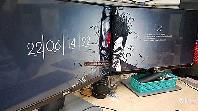 Nastavte tapety na duálním monitoru ve Windows 10