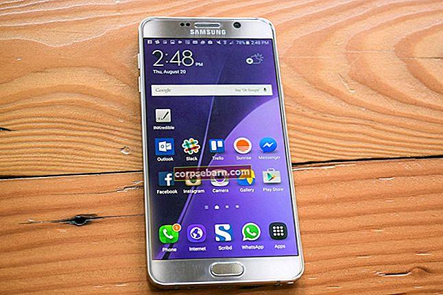 Samsung Galaxy Note 5 Běžné problémy a jak je opravit