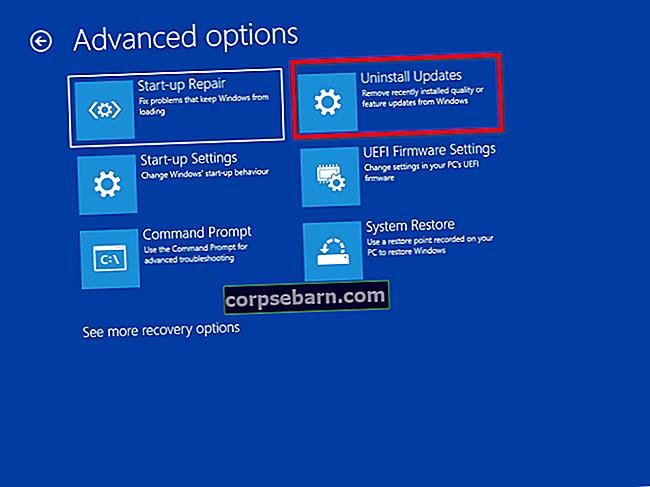 Kā atjaunināt un atinstalēt atjauninājumus operētājsistēmā Windows 10