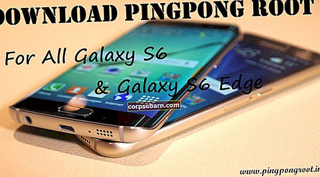 Kā sakņot Verizon Galaxy S6 Edge G925V, nepakļaujot Knox, izmantojot PingPong
