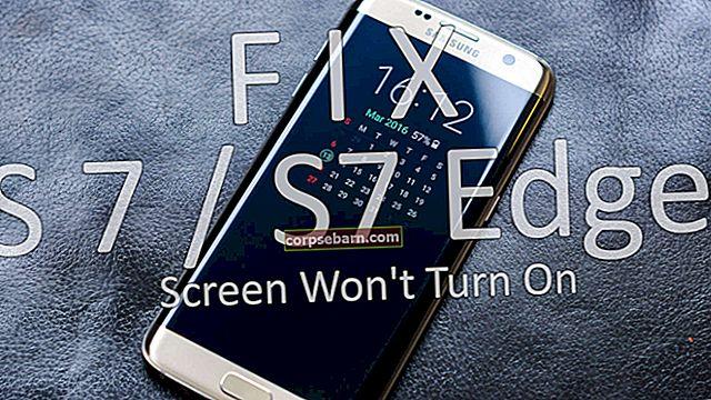 Obrazovka Samsung Galaxy S7 se nezapne - jak to opravit