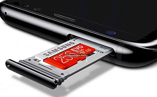 Πώς να μετακινήσετε εφαρμογές στην κάρτα Micro SD στο Galaxy S8