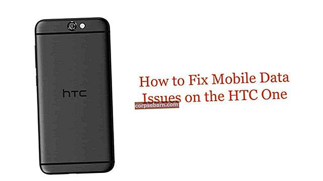 Πώς να διορθώσετε τα δεδομένα κινητής τηλεφωνίας HTC ONE M8 που δεν συνδέονται