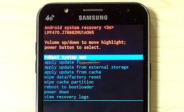Πώς να εκκινήσετε το Samsung Galaxy σε λειτουργία ανάκτησης
