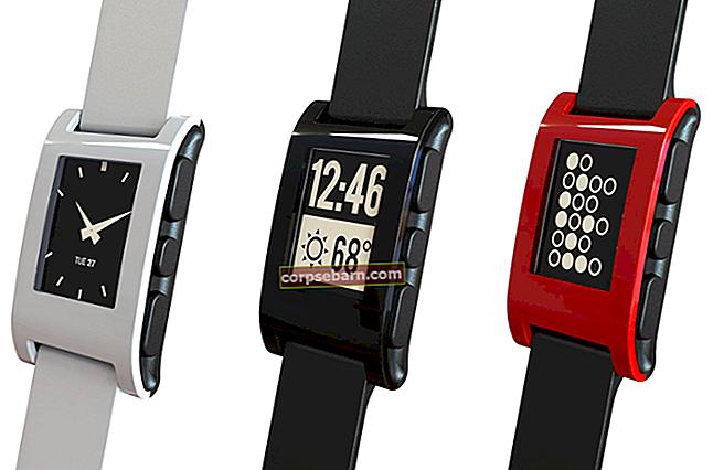 Κορυφαίες καλύτερες εφαρμογές για Pebble Smartwatch