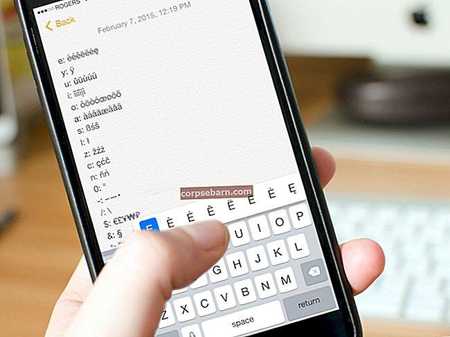Πώς να πληκτρολογήσετε περισσότερους χαρακτήρες σε iPhone / iPad