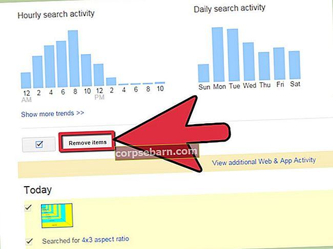Πώς να απενεργοποιήσετε το πρόσφατο ιστορικό αναζήτησης Google