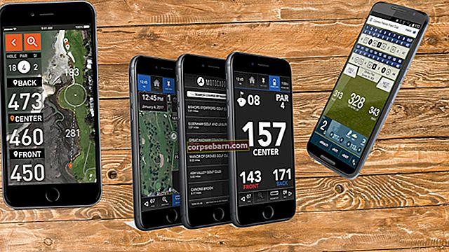 """Geriausios geriausios """"Android"""" skirtos golfo programos"""