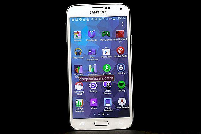 Τρόπος διόρθωσης της οθόνης Samsung Galaxy S5 δεν θα ενεργοποιήσει το πρόβλημα