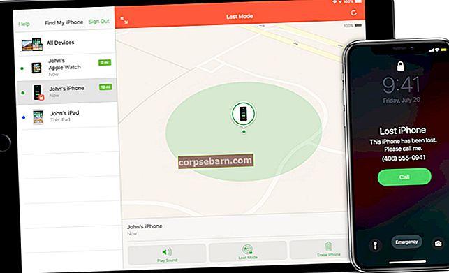 Kuidas leida puuduvat iPhone'i / iPadi / iPod Touchi rakendusega Find My iPhone