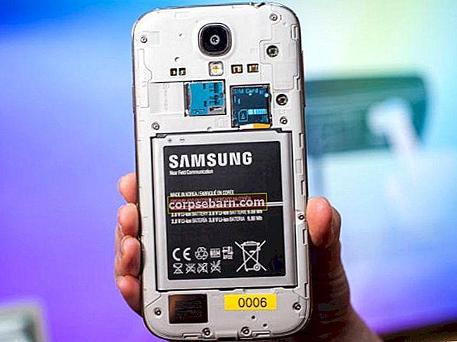 Επιδιόρθωση τυχαίου τερματισμού του ενεργού προβλήματος Samsung Galaxy S4