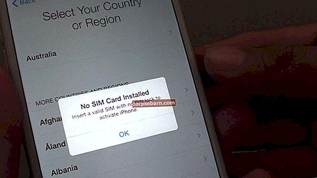 Cách kích hoạt iPhone mà không cần thẻ SIM